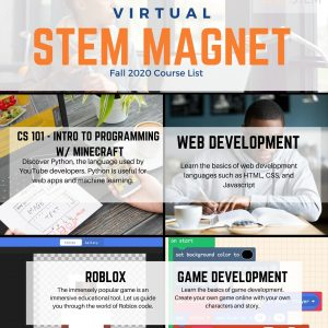 BrainSTEM Virtual STEM Magnet Flyer 2